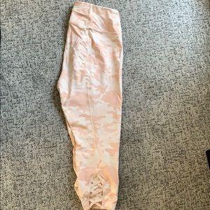 Torrid Pink/Nude Camo Yoga pants